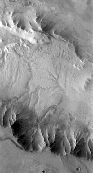 Melas Chasma Channels