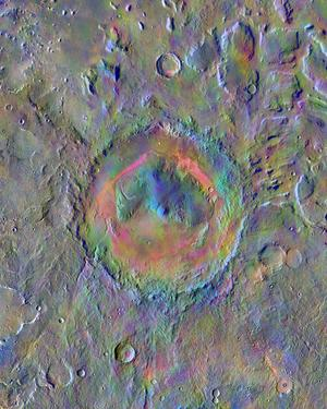 New face of Gale Crater